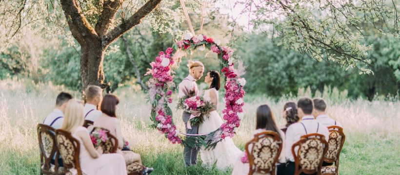 Planning and Designing Wedding Adornments To have an Outside Wedding