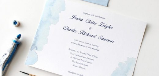 How to decide on the Ideal Wedding Invites