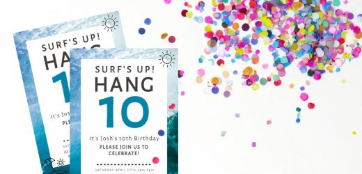 Party Invitations for the Celebration
